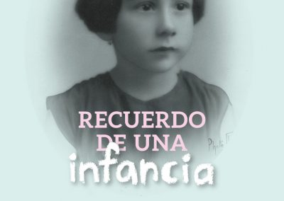 """""""Recuerdo de una Infancia"""" Abril Salgado"""