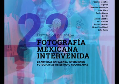 Fotografia Mexicana Intervenida