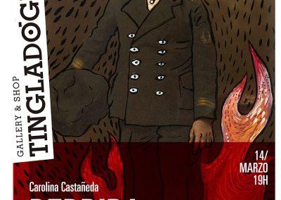 Carolina Castañeda, Perdida en el fuego