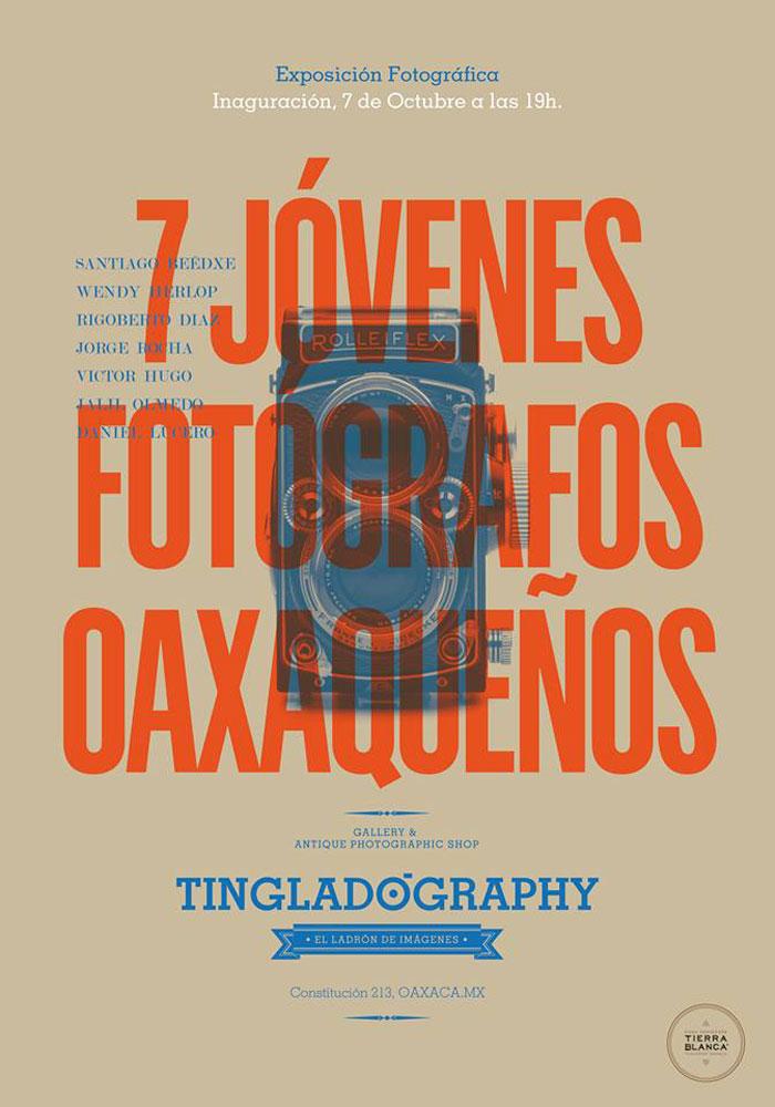 Siete fotógrafos Oaxaqueños